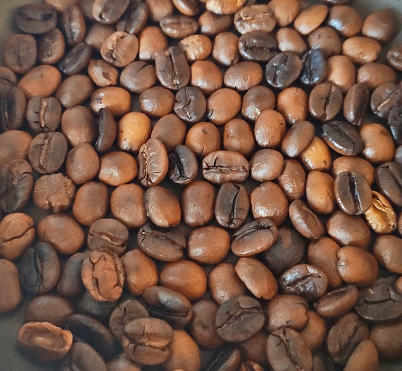 Обжаренные кофейные зёрна
