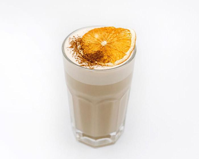 Цитрусовый Раф кофе (с апельсином)