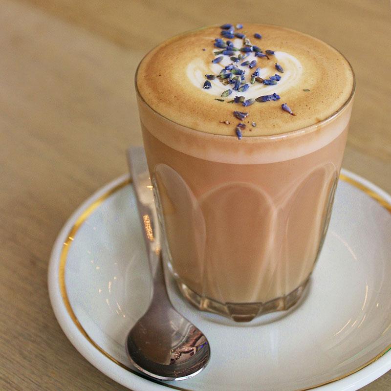 Раф кофе с лавандой